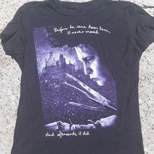 Edward Scissorhands med tee shirt